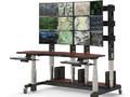 Стол-стойка видеонаблюдения на 2 рабочих места продажа от производителя