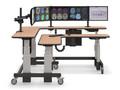 Стол угловой двухуровневый с электроприводом STOLL-R - купить по цене производителя продажа от производителя