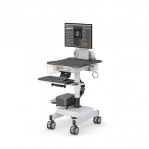 Компьютерная тележка медицинская с ИБП - купить по цене производителя АРМЕР