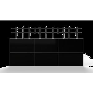 Настенное крепление для видеостены Откидной кронштейн 3х3