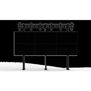 Напольно-настенное крепление для видеостены Базовый кронштейн 3х3
