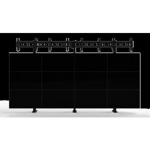 Напольно-настенное крепление для видеостены Базовый кронштейн 4х4