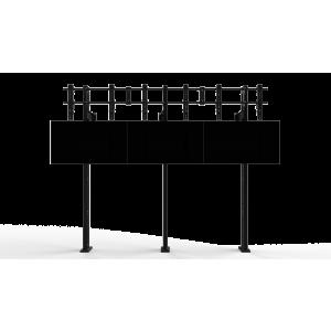 Напольно-настенное крепление для видеостены Откидной кронштейн 2х3