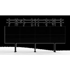 Напольно-настенное крепление для видеостены Откидной кронштейн 3х4