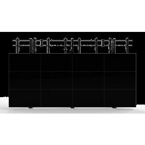 Напольно-настенное крепление для видеостены Откидной кронштейн 4х4
