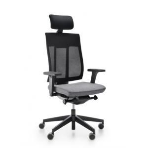Кресло руководителя с сетчатой спинкой и подголовником ХЕNON 111 - купить на сайте АРМЕР