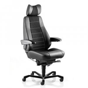 Кресло диспетчера KAB Controller 24/7 усиленная нагрузка, натуральная кожа - купить на сайте АРМЕР